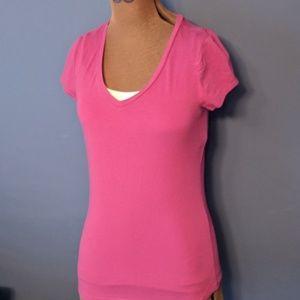 Ann Taylor cute pink tee shirt